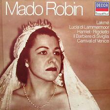 MADO ROBIN -  Decca Grandi Voci 411 641-1 NM/EX