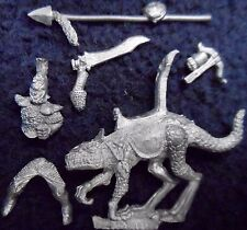 1990 Dark Elf MM71 Doom Drake fría Rider 1 Marauder caballería Warhammer Drow