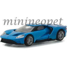 GREENLIGHT 29933 HOBBY EXCLUSIVE 2017 FORD GT 1/64 DIECAST MODEL CAR BLUE