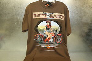 New Harley Davidson Canyon Cowgirl Coffee Tee T Shirt Sz Small Sm Boise, ID