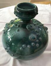 Poole Pottery studio sea scape urchins and molluscs vase Alan White perfect