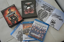 COFFRET 3 BLU RAY ...EXPENDABLES TRILOGIE....COMME NEUF