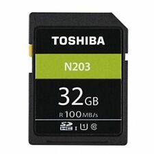 Toshiba 32Gb N203 UHS-I Class 10 SDHC Memory Card (UK Stock) BNIP