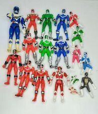 MMPR Figure Lot Mighty Morphin Power Rangers Vtg 90s 2000 2001
