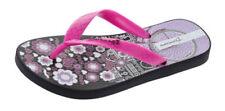 Chaussures noirs moyens en caoutchouc pour fille de 2 à 16 ans