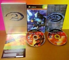 Halo 2 Limited Collector's Edition - Microsoft Xbox Og Game Complete Mint Discs