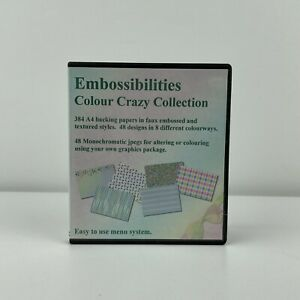 Embossibilities Crazy Colour Collection CD ROM Sharon Duncan Crafts