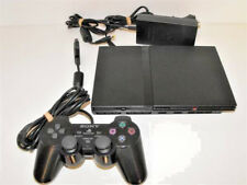 Black Playstation 2 Slim PS2 Console + Dual Shock Controller PAL