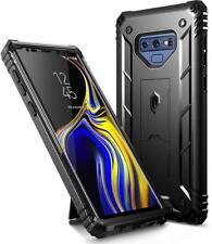 Case For Samsung Galaxy Note 9 Poetic【Revolution】Built-in-Screen Protector Black