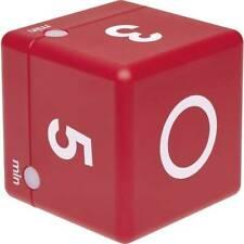 Tfa dostmann timer cube rosso digitale