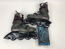 Rollerblade Womens Size 9 26 Italy Maxxum Macroblade Inline Skates Hyper Rubber
