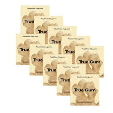 True Gum - 10x 21g Plastikfreie Kaugummi - Ingwer & Kurkuma - 100% Biologisch