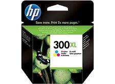 Cartucho Tinta HP 300 XL Color ORIGINAL Impresoras D1660 D2560 F2420 F2480 C4670