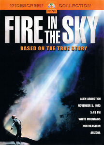 FIRE IN THE SKY (DVD, 2004) - NEW DVD