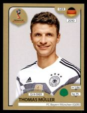 Panini World Cup 2018 (SWISS GOLD VERSION) Thomas Müller (Germany) No. 450