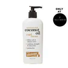OLIOLOGY BEAUTY OILS~~COCONUT OIL CURL CREAM FOR HAIR 7.8 OZ PUMP