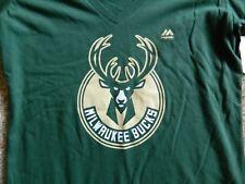 Milwaukee Bucks womens green Small top w/logo & name(smaller)