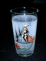 """1990 KENTUCKY DERBY Horse Race #116 """"Mint Julep"""" 12 oz Glass Tumbler - MINT!"""