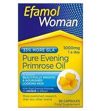 2 x Efamol Woman Pure Evening Primrose Oil 1000mg 30 Capsules