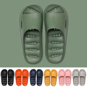 Pillow Slides Womens Mens Slip On Slide Sandals Flip Flop Shoes Slipper Pool Gym