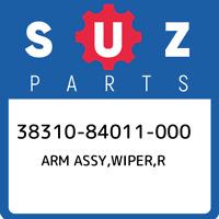 38310-84011-000 Suzuki Arm assy,wiper,r 3831084011000, New Genuine OEM Part