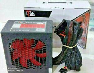 ALIMENTATORE PC DESKTOP iTek DESERT 750WATT ATX 12V 2.31 CONNETTORI PCI SATA IDE