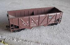 HO Scale AT&SF Santa Fe 180517 Wood Side Coal Car