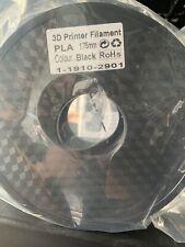 3D PRINTER FILAMENT BLACK PLA 1.75mm 1KG