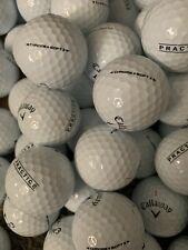 "1 Dozen Callaway Chrome Soft X ""Practice Stamp� Golf Balls Pga Tour Used -Aaa-"