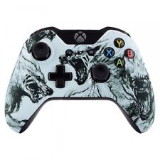 Front Top Housing Shell Faceplate Case Cover for Xbox One Controller Wolf Soul