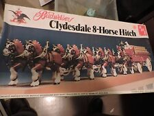 AMT  1/20th SCALE BUDWEISER CLYDESDALE 8 HORSE HITCH  PLASTIC MODEL KIT  # 7702