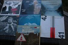 Sammlung vinyl Deutsche Liedermacher Degenhardt , Danzer, Hartz, van veen7