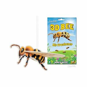 Archie McPhee 3D Bee Honey Scent Air Freshener NEW