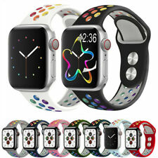 Silicona Banda Correa Iwatch para Apple Watch se serie 1/2/3/4/5/6 38/40/42/44mm