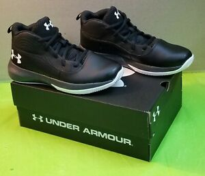 🔥👟Under Armour UA GS Lockdown size 4Y Athletic 🏀Basketball Shoes 3022313-001