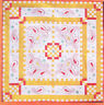 CLEARANCE - Paisley & Polka Dots - stitchery & pieced quilt PATTERN