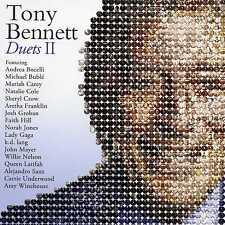 TONY BENNETT - DUETS II - NEW CD!!