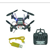 MINI DRONE QUADRICOTTERO RTF CON RADIOCOMANDO 2,4 GHZ IN KIT FAI DA TE COMPLETO