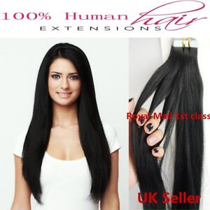 """Best Quality 14''-24"""" Tape-In 8A* Premium Russian Remy Human Hair Extensions 1st"""