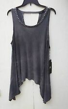 ROCK AND REPUBLIC   SIZE LARGE   SLEEVELESS W/STUDS ON FRONT COLLAR