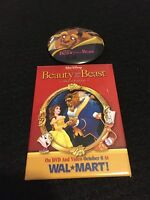 Beauty and the Beast Pin Backs Two