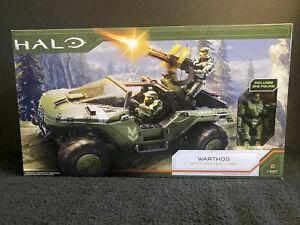 Jazwares Halo Infinite Warthog & Master Chief Vehicle Deluxe Figure Set 2020 NEW