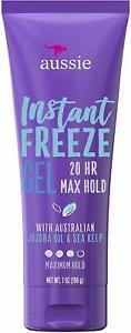 Aussie Instant Freeze 20-Hour Maximum Hold Hair Gel 7.0 oz (198g)