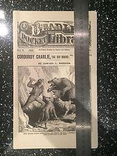 Penny Dreadful Original Prop with LOA Corduroy Charlie
