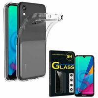 Coque Silicone Gel UltraSlim Huawei Honor 8S/ Honor Play 8 avec Verre Trempé