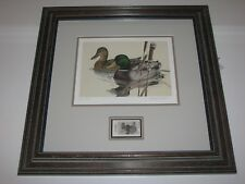 Larry Hayden Texas Waterfowl Stamp Limited Edition Signed Print, Ducks