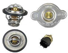 For NISSAN ALTIMA ROGUE SENTRA 2 Thermostat + Radiator Cap,+ Temp Sensor Set