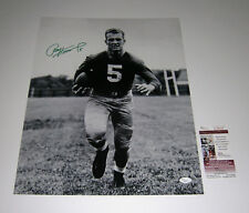 PACKERS Paul Hornung signed 16x20 photo GREEN ink JSA COA AUTO Autographed