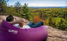 Inflatable Air Lounge Sofa or Cloud lounger Air Filled Balloon PURPLE