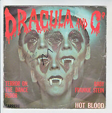 "HOT BLOOD Disque 45T 7"" DRACULA And CO -BABY FRANKIE STEIN - TERROR ON THE DANCE"